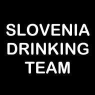 Smešna majica Slovenia drinking team