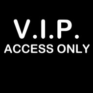 Smešna majica vip access only