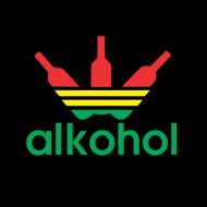 Smešna majica alkohol rasta