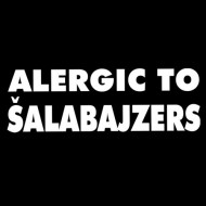 Smešna majica allergic to šalabajzers