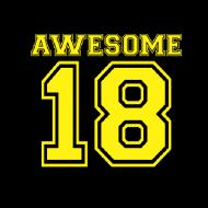 Smešna majica awesome 18