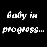 Majica za nosečnice baby in progress...