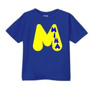 Smešna otroška majica črka IME PO ŽELJI