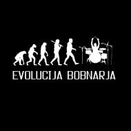 Smešna majica evolucija bobnarja