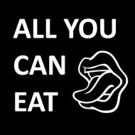 Smešna majica all you can eat