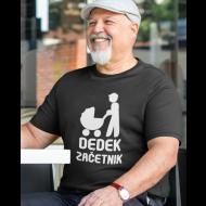 Smešna majica dedek začetnik