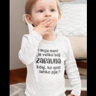 Otroški bodi zabavna mami