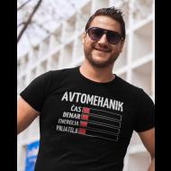 Smešna majica energija avtomehanik