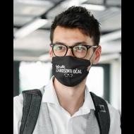 Obrazna maska klub zarošenih očal