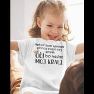 Smešna otroška majica princ mojih sanj