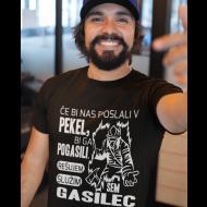 Majica gasilec v peklu