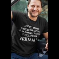 Smešna majica hiter zaradi avta
