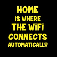 Smešna majica home wifi