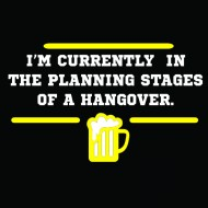 Smešna majica planning hangover