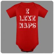 Otroški bodi I like naps