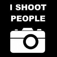 Smešna majica I shoot people