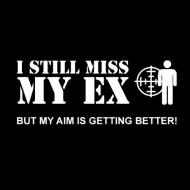 Smešna majica I still miss my ex