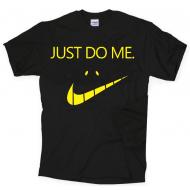 Smešna majica just do me nasmeh