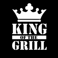 Smešni predpasnik king of the grill