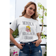 Smešna majica kraljica drame