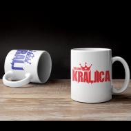 Komplet dveh skodelic kralj kraljica
