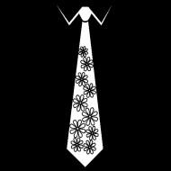 Smešna majica kravata rožice