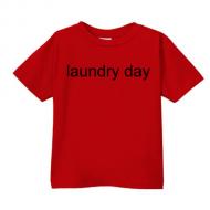 Smešna otroška majica laundry day