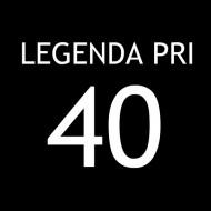 Smešna majica legenda pri 40