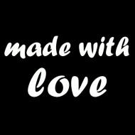 Majica za nosečnice made with love