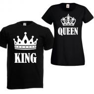 Majica KOMPLET king queen