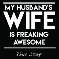 Smešna majica my husband's wife