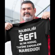 Smešna majica najboljši šefi
