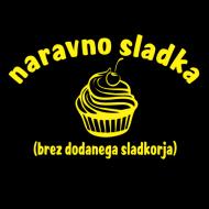 Smešna majica naravno sladka