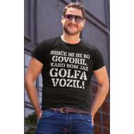 Smešna majica nihče VOZIL