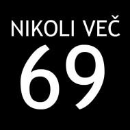 Smešna majica nikoli več 69