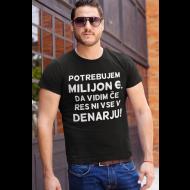 Smešna majica ni vse v denarju