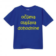 Smešna otroška majica očijeva olajšava dohodnine