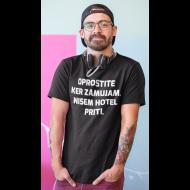 Smešna majica oprostite ker zamujam