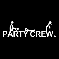 Smešna majica party crew