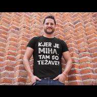 Smešna majica TEŽAVE!