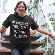 Smešna majica ne jezika ne trebuha