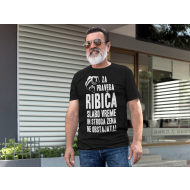 Smešna majica pravi ribič!