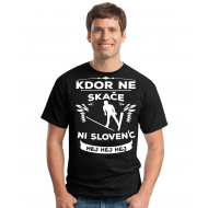 Smešna majica KDOR NE SKAČE NI SLOVENC