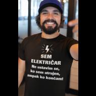 Smešna majica električar se ne ustavi