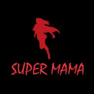 Majica za materinski dan super mama