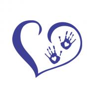 Majica za nosečnice srček rokice