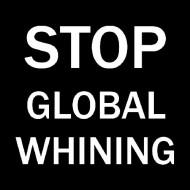 Smešna majica stop global whining