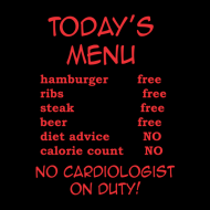 Smešni predpasnik todays menu