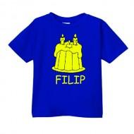 Smešna otroška majica torta IME PO ŽELJI