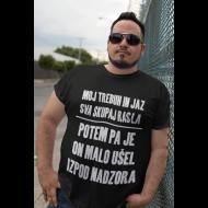Smešna majica moj trebuh in jaz